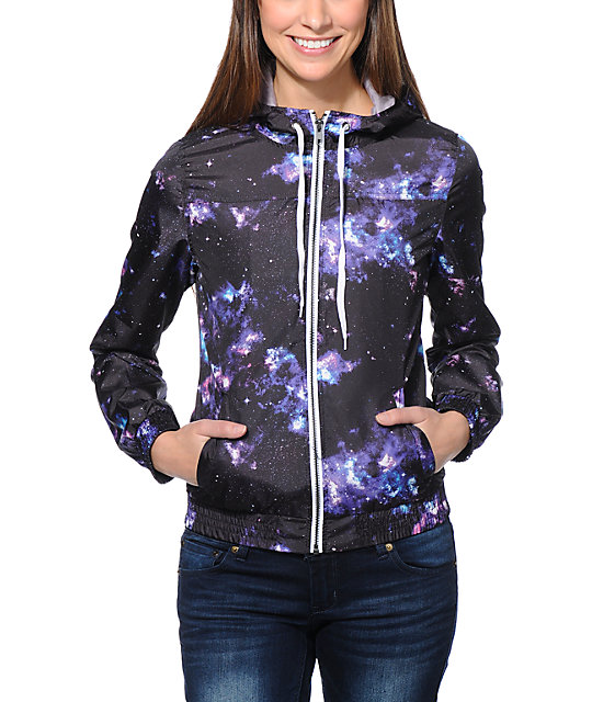 Multi Celestial Windbreaker Jacket
