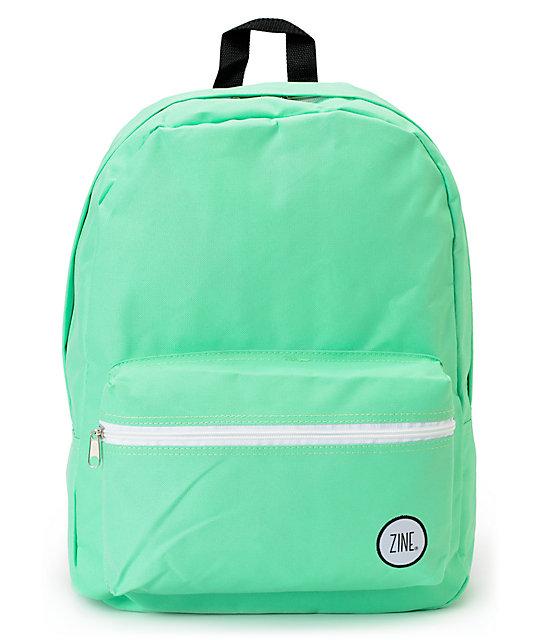 Zine Neon Mint Backpack