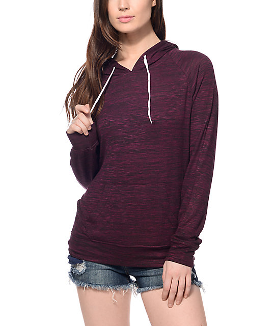 Zine Phi Hacci Blackberry Pullover Hoodie at Zumiez : PDP