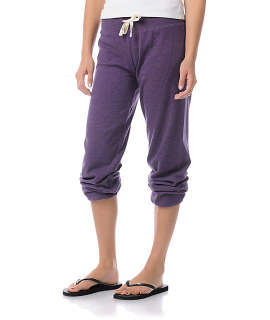 Zine Purple Pennant Sweatpants