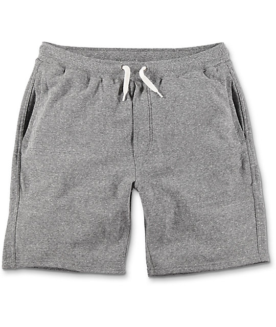 Zine Silas Heather Grey Sweat Shorts