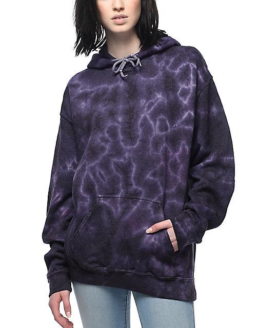 Zine Tera Purple Tie Dye Hoodie