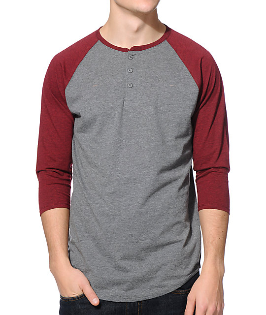Shop for GRAY L Baseball Henley T-shirt online at $ and discover fashion at fabulousdown4allb7.cf Cheapest and Latest women & men fashion site including categories such as dresses, shoes, bags and jewelry with free shipping all over the world.