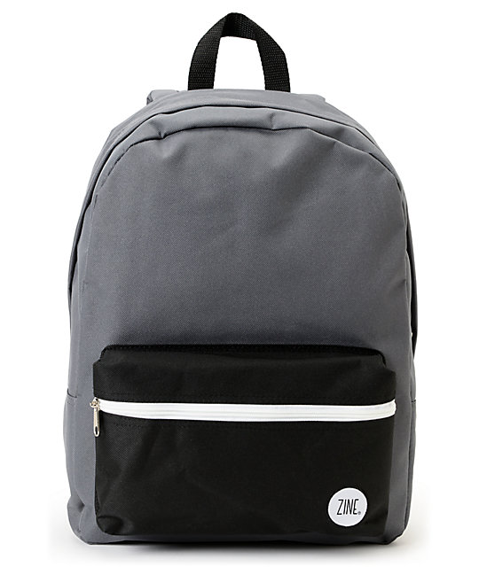 Zine Voyage Grey & Black Backpack