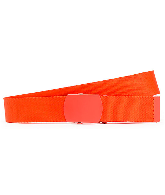 Zine Webster Red Web Belt