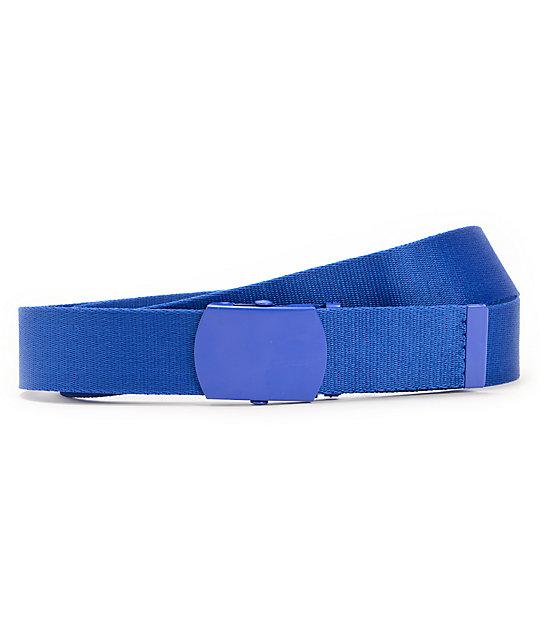Zine Webster Royal Blue Web Belt