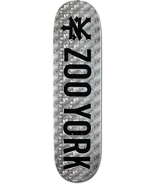 "Zoo York Photo Incentive Prismatic 8.25""  Skateboard Deck"