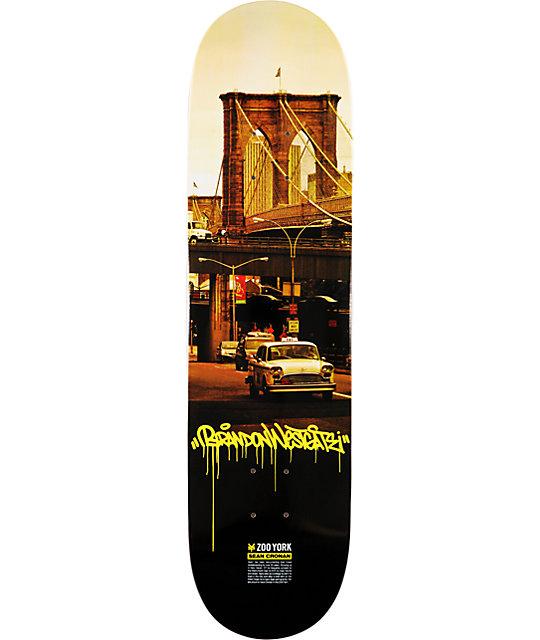 "Zoo York Westgate Cronan 8.1""  Skateboard Deck"