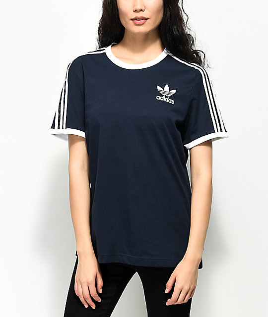 t shirt adidas 3 stripes