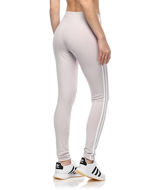 adidas 3 stripe pants. adidas 3 stripe lavender leggings; leggings pants