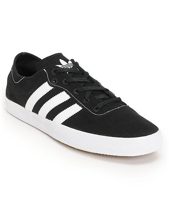 adidas adi ease surf black running white canvas canvas