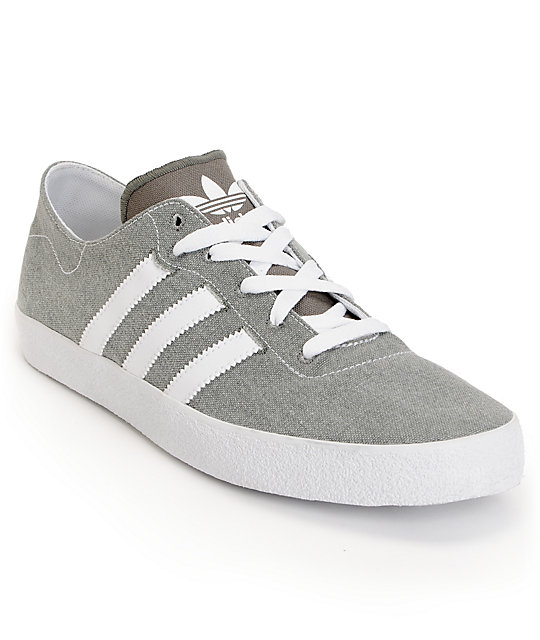 adidas Adi Ease Surf Mid Cinder & Running White Canvas Shoes