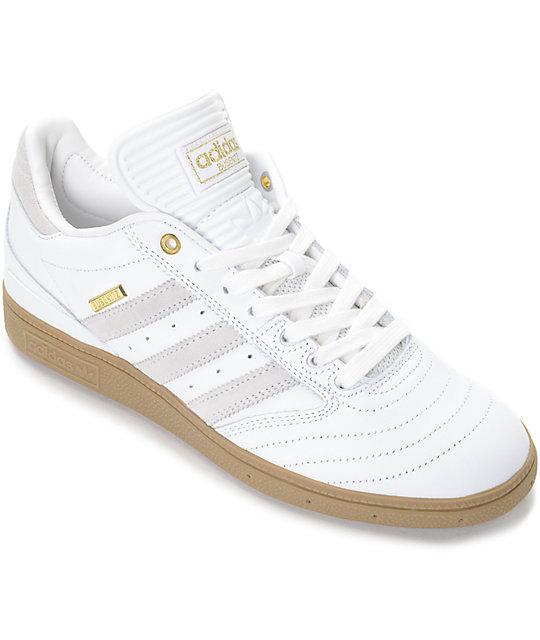 b43e650d8320a ... adidas Busenitz 10 Year Anniversary White Gum Shoes . ...