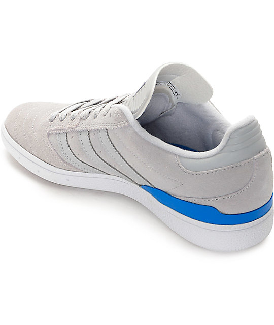 Adidas Busenitz Grey Grey Bluebird Shoes