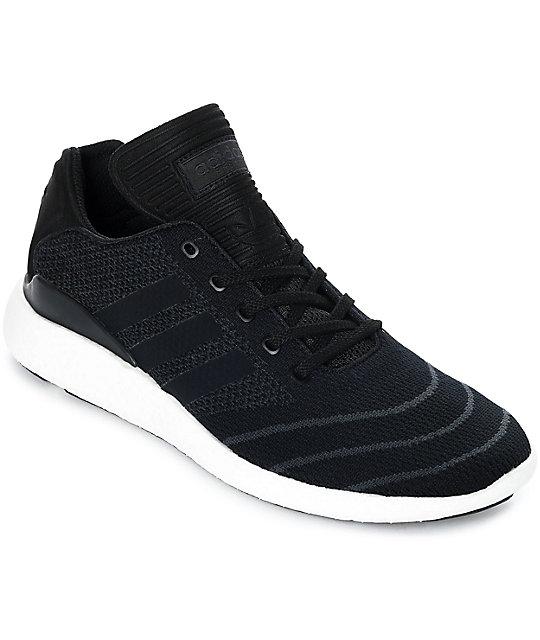 super popular 4d307 26842 ... adidas busenitz pure boost prime black shoes