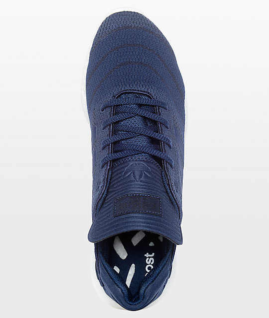 adidas Busenitz Pure Boost Prime Navy Shoes