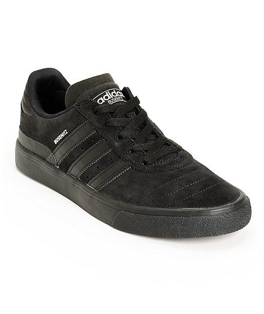 all black adidas busenitz
