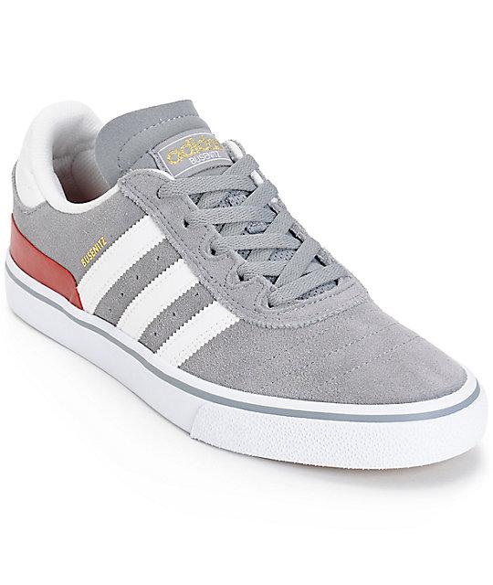 adidas Busenitz Vulc Grey Skate Shoes