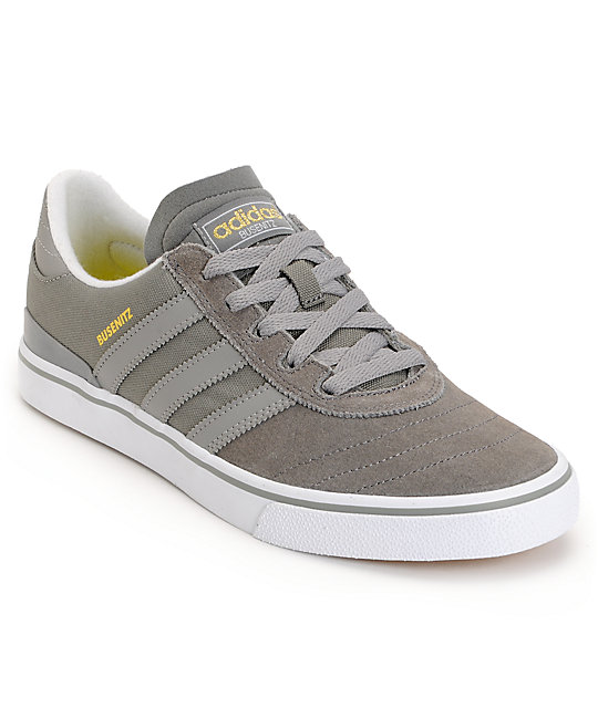 adidas Busenitz Vulc Mid Cinder & Grey Rock Suede Shoes