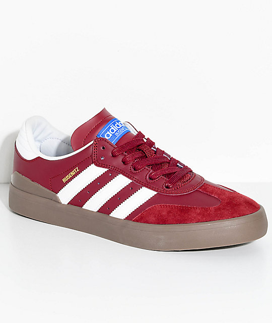 Adidas Busenitz Vulc Adv Shoes Burgundy