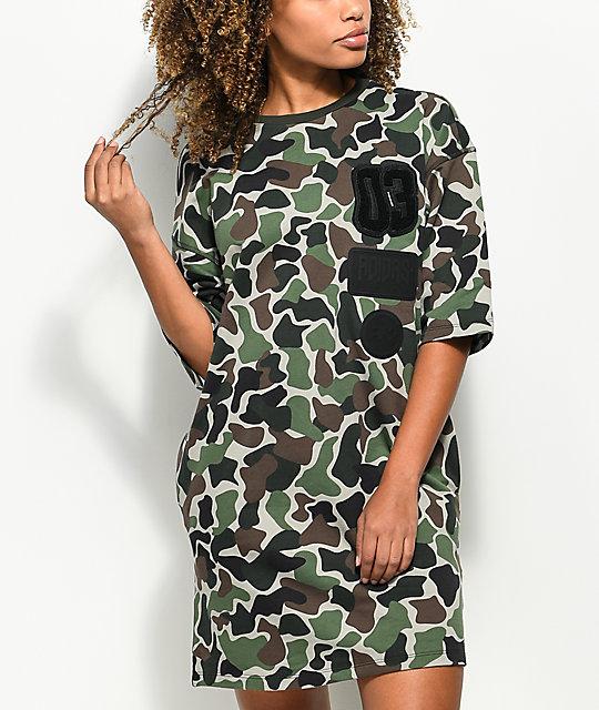 Women Camo Shirt