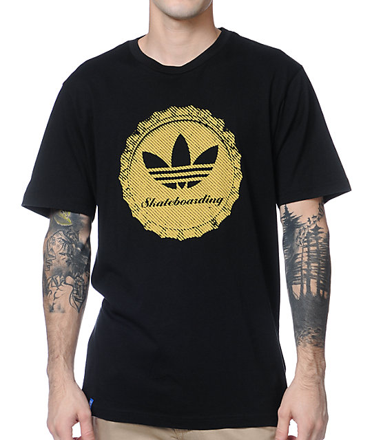 adidas Cap Black T-Shirt