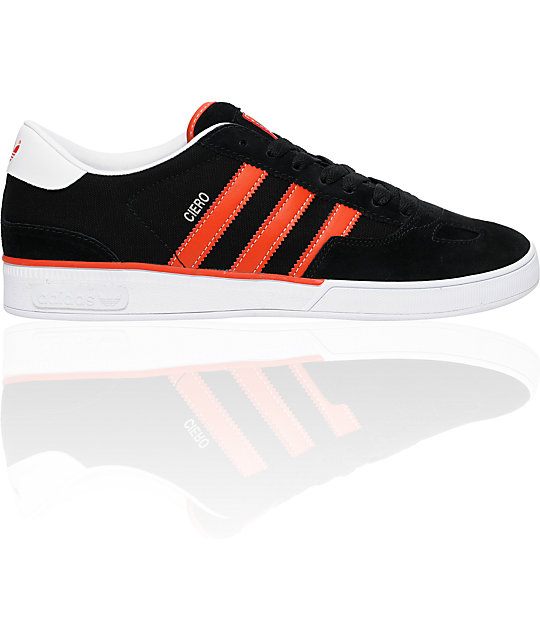 adidas Ciero Black & Red Shoes