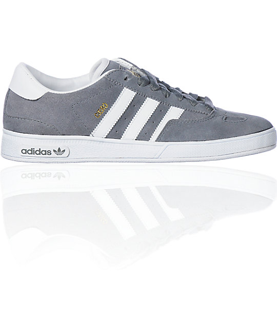 adidas Ciero Grey & White Shoes
