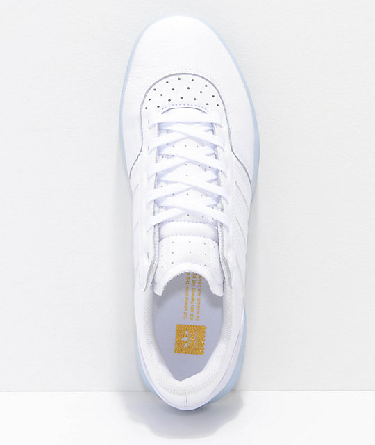adidas City Cup White & White Ice Shoes