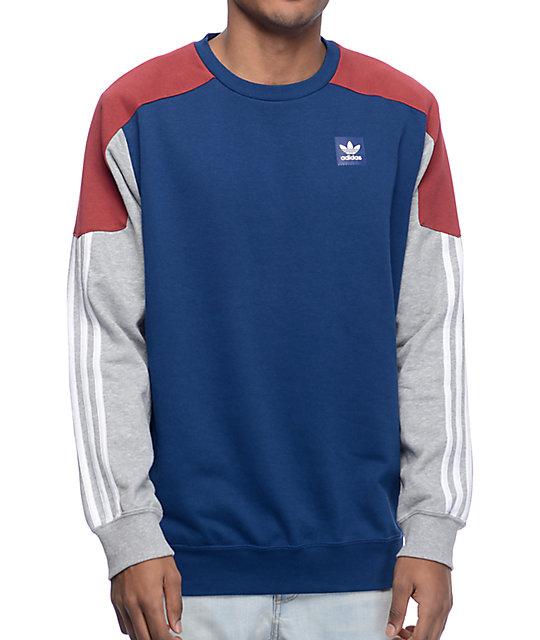 adidas Clima Nautical Navy Crew Neck Sweatshirt
