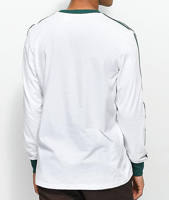 Adidas blanco long sleeve t shirt l d
