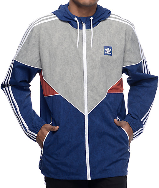Adidas Colorado Nautical Blue Windbreaker Jacket