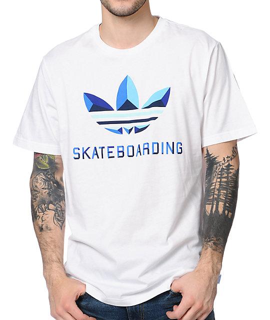 adidas Corpo Logo White T-Shirt