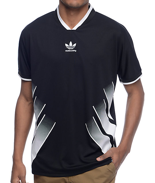 adidas EQT Black Soccer Jersey at Zumiez : PDP - photo#38