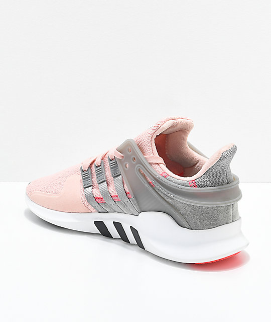 adidas EQT Support ADV Pink & Grey Shoes