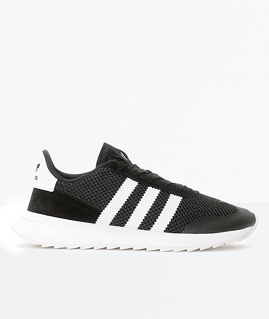 the best attitude ceee0 76024 adidas Flashback Black  White Womens Shoes Zumiez