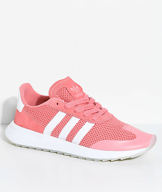 adidas shoes pink and grey. adidas flashback tactile rose \u0026 white shoes pink and grey l