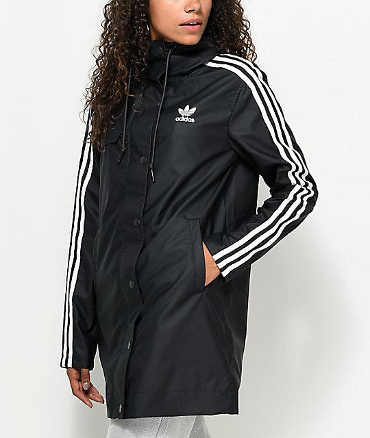 adidas info poster rain jacket zumiez. Black Bedroom Furniture Sets. Home Design Ideas
