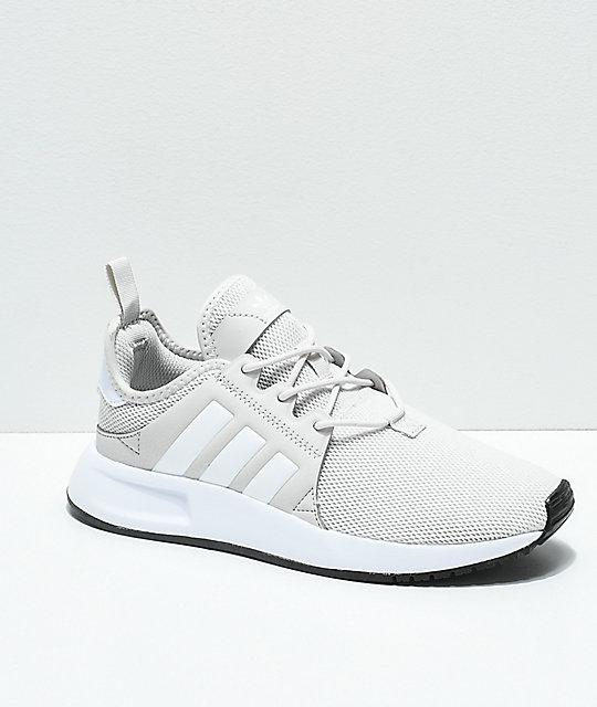 adidas-xplorer-light-grey-&-white-shoes by adidas
