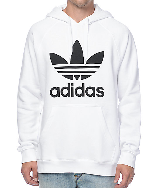 white adidas sweater