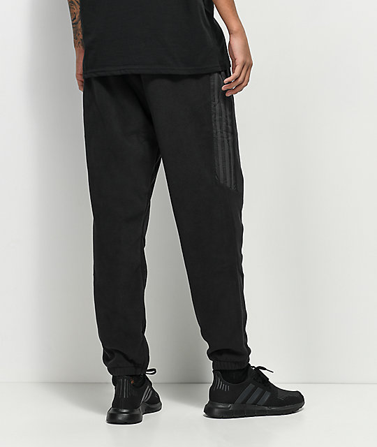 adidas Premier Black Fleece Pants