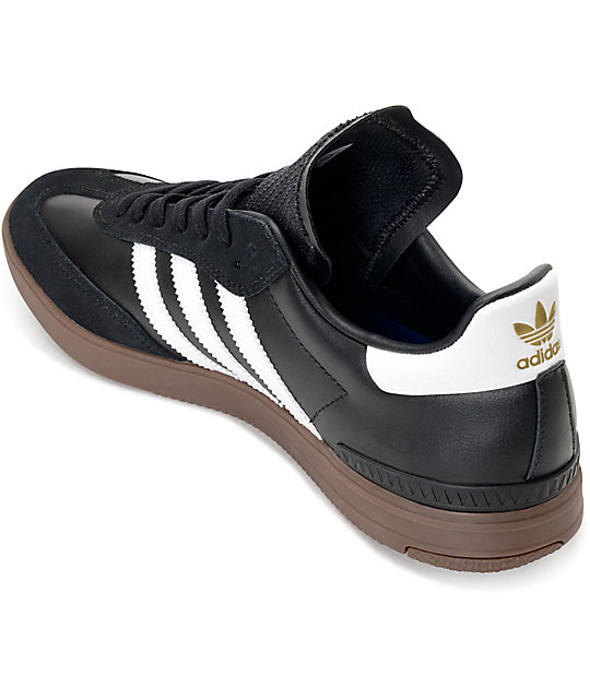 First introduced as a cold-weather soccer shoe in (the innovative gum sole provided great traction on frozen surfaces), the iconic Samba was adopted by everyone from skaters to rappers and became one of Adidas's best-selling sneakers.