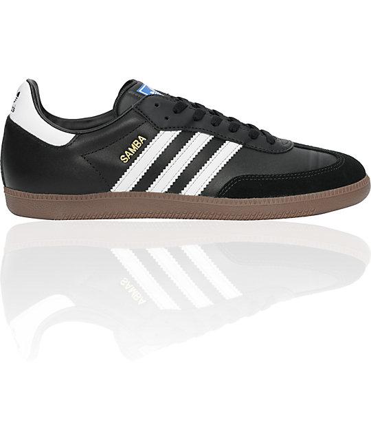 adidas Samba Black, White & Gum Shoes
