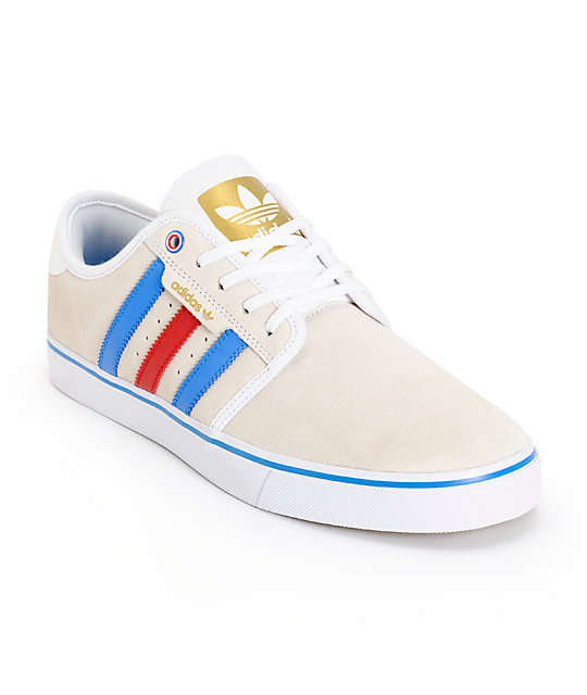 adidas Seeley Americana Skate Shoes
