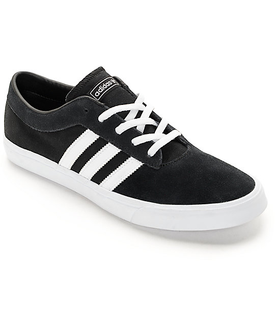 adidas sellwood black white shoes