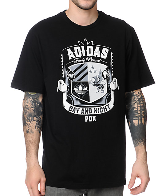 adidas Shield Black T-Shirt