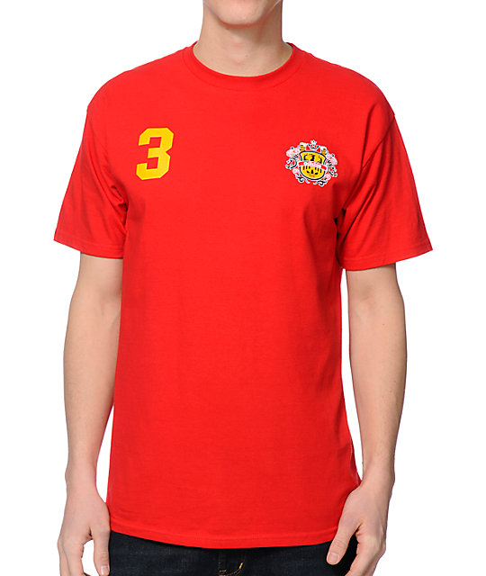adidas Skate Copa Spain Red 2014 Team Jersey T-Shirt