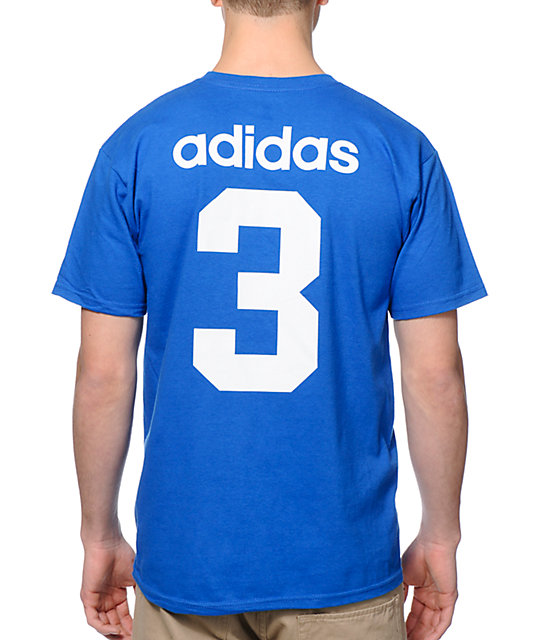 adidas Skate Copa USA Blue 2014 Team Jersey T-Shirt