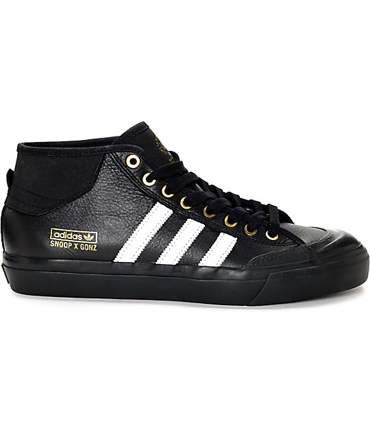 adidas Snoop x Gonz LA Stories Matchcourt Mid Black Shoe