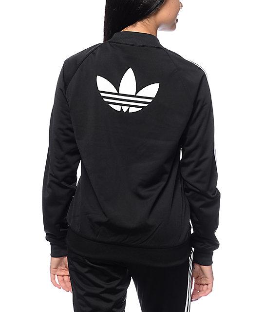 Le Noir De Veste De Survêtement Superstar Adidas psy6cx